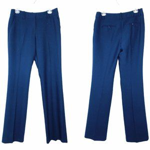 Trina Turk Indigo Blue Size 2 Straight Leg Pants